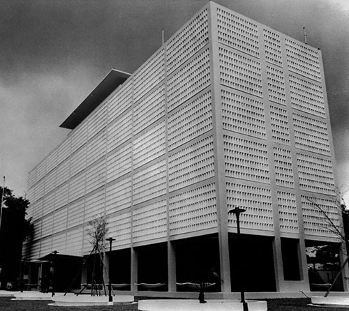 Terence Gower, New US embassy, Saigon, 1967, National Archives, Washington, DC
