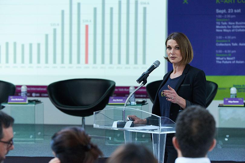 Panelist Clare McAndrew