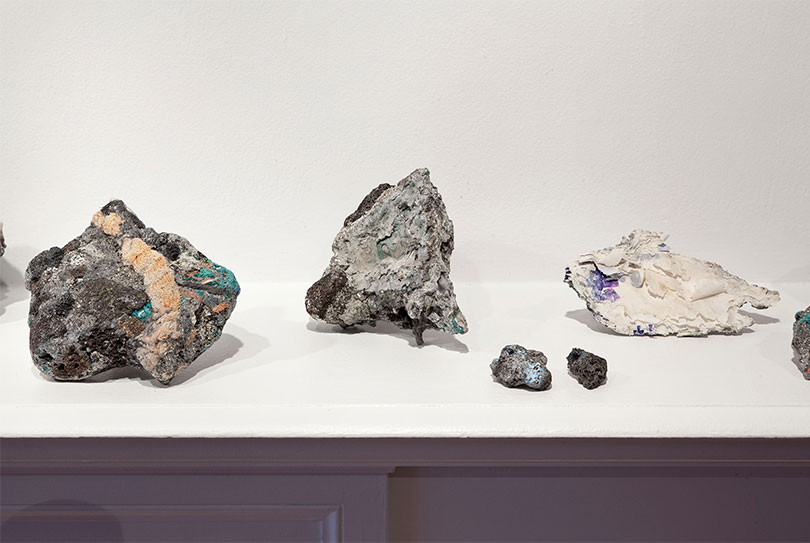 Kelly Jazvac, installation view of PARK, Oakville Galleries, Canada, 2013.