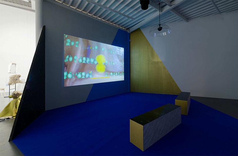 Installation view of 〈Desk Set〉, CAC Brétigny, 2018. PhotoⓒAurélien Mole