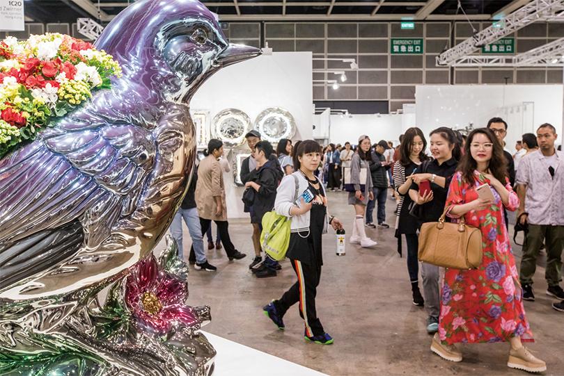 2018년 홍콩에서 개최된 아트바젤 홍콩 전시장면 ⓒArt Basel