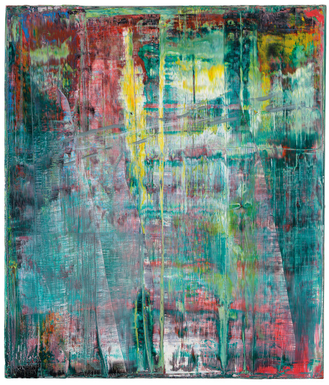 Gerhard Richter, 'Abstraktes Bild', 1994, oil on canvas. Image courtesy Christie's Images Ltd.