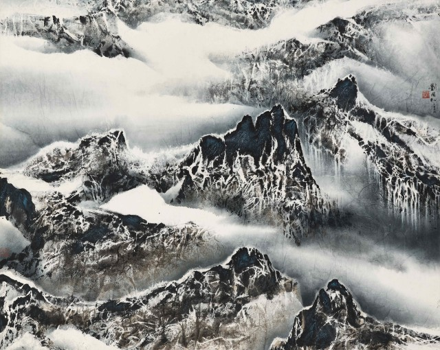 Liu Kuo-Sung, 'Play of Mountain and Cloud', 1993. Image courtesy Christie's Images Ltd.