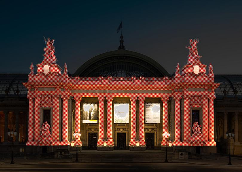 Camille Scherrer, 〈Projet facade Paris Art fair〉,  2018 ⒸCamille Scherrer