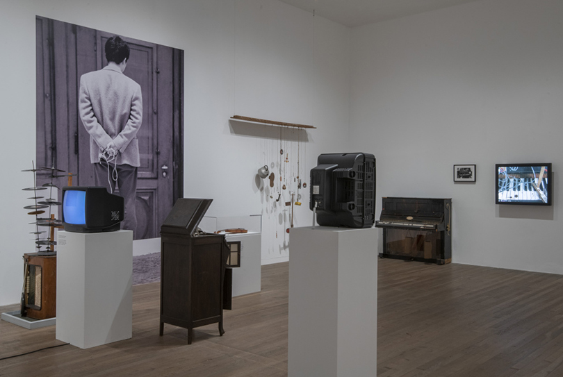 Nam June Paik at Tate Modern, 2019, install view. All works by Nam June Paik © Estate of Nam June Paik. Photo credit: Andrew Dunkley ©Tate.