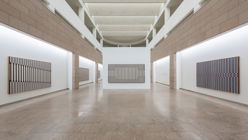 Lee Seungjio: Advancing Columns Installation View National Museum of Modern Contemporary Art Korea. Image provided by WIDEWALLS