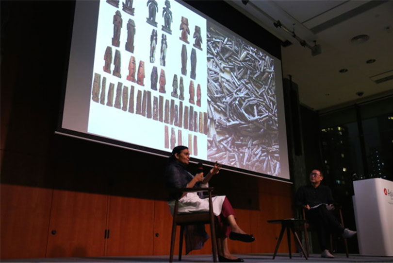 Art, Ritual and the Everyday: Sheela Gowda in conversation with Doryun Chong. M+ Matters – REORIENT: Conversations on South and Southeast Asia, 30 November – 2 December 2017. Image courtesy the WKCDA.