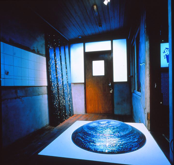 Kim You Sun, Plank Time (1995). Partial exhibition view: Ssack, Art Sonje Center, Hanok (1995). Courtesy Sunjung Kim.