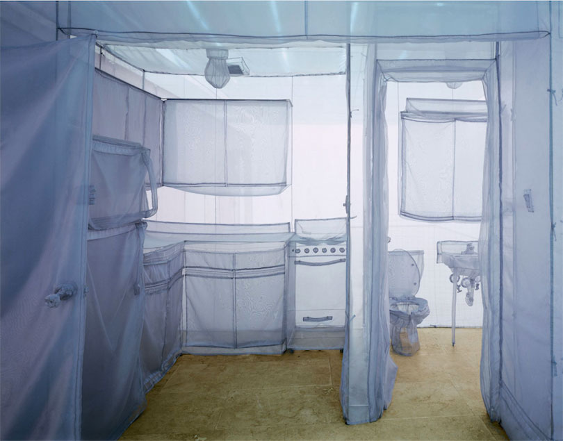 Do Ho Suh, 〈The Perfect Home II〉, 2003. © the artist. Courtesy Lehmann Maupin New York, Hong Kong and Seoul, and Victoria Miro, London/Venice