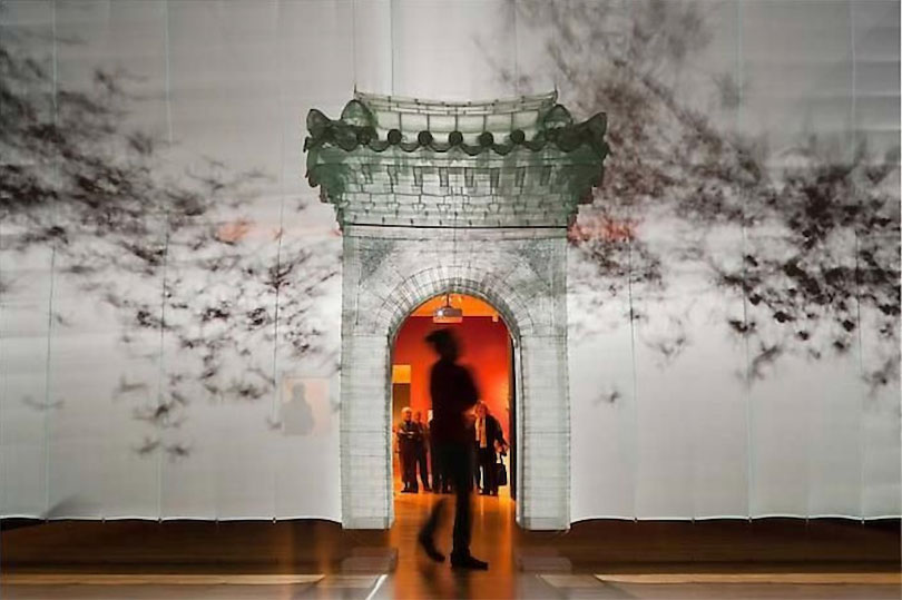 Do Ho Suh, Gate Installation view, Luminous The Art of Asia Seattle Art Museum, 2011. Photo by Nathaniel Willson. Courtesy Lehmann Maupin New York, Hong Kong and Seoul, and Victoria Miro, London/Venice